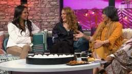 Mónica Miguel le da unas clases de actuación a Paola Rojas