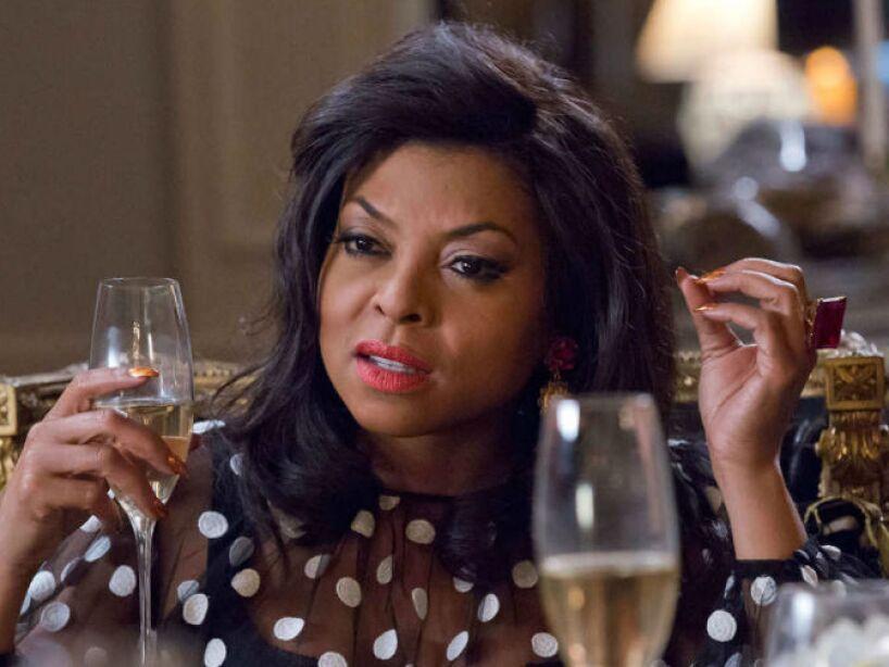 1. Cookie Lyon: Interpretada por Taraji P. Henson, forma parte del show más popular de TV, Empire.