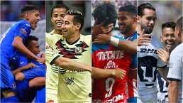 Cruz Azul, América, Chivas y Pumas recuperan protagonismo y Liguilla