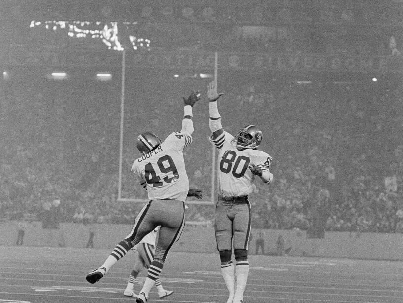Football Games Super Bowl XVI 1982 Cincinnati vs San Francico