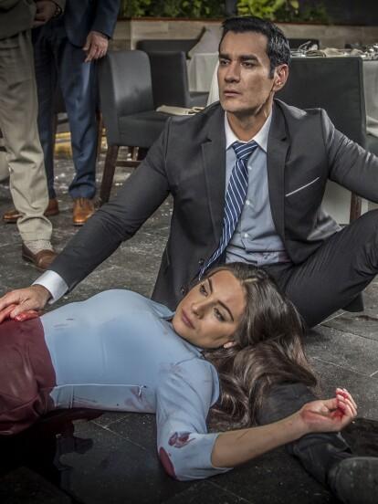 Alejandra recibe un impacto de bala durante un enfrentamiento. Aquí todos los detalles de qué fue lo que pasó.