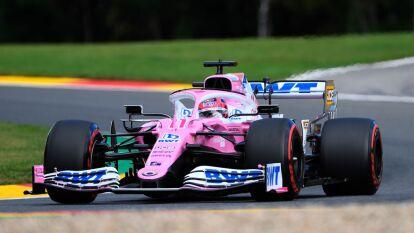 'Checo' arrancará de octavo y Stroll de noveno; Hamilton Bottas y Verstappen iniciarán en los tres primeros lugares.