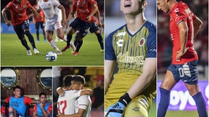Veracruz no ha ganado desde hace 400 días y Kevin Castañeda se encargó de prolongar esa racha con su gol en el tiempo de compensación.