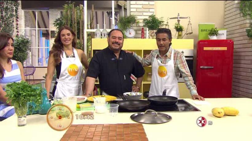 Hoy, 25/04/2014, Chef Ricardo Muñoz