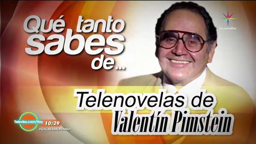 Descubre Qué Tanto Sabes de telenovelas de Valentín Pimstein