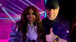Thalía y Tommy Mottola cumplieron 20 años de casados y lo celebraron cantando 'Happy Anniversary'