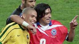 Iván Zamorano recuerda al 'fenómeno brasileño' Ronaldo