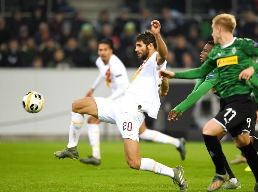 Borussia Moenchengladbach v AS Roma: Group J - UEFA Europa League