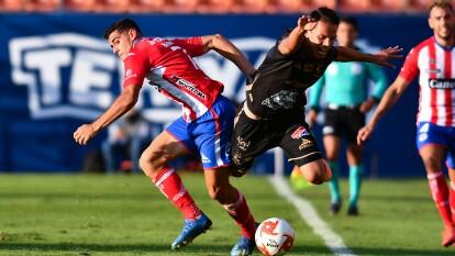 Con goles de Ángel Mena y Jean Meneses, la Fiera consigue llevarse los puntos en su visita al Atlético San Luis.