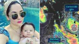 """""""Estoy nerviosa por André"""": Sherlyn se prepara desde Cancún para la llegada del huracán 'Delta'"""