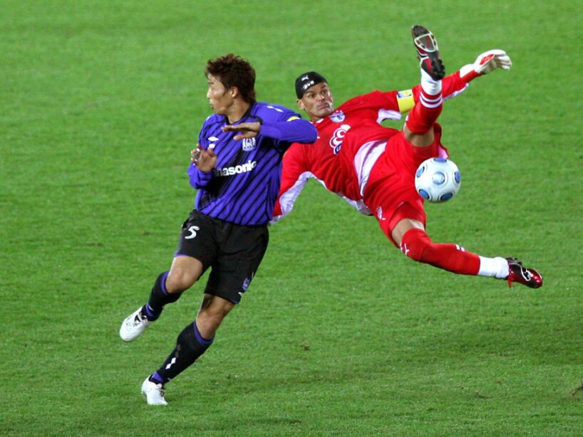 Pachuca v Gamba Osaka - FIFA Club World Cup 2008