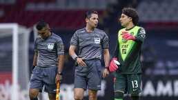 Memo Ochoa se queja del arbitraje en la Liga de Campeones