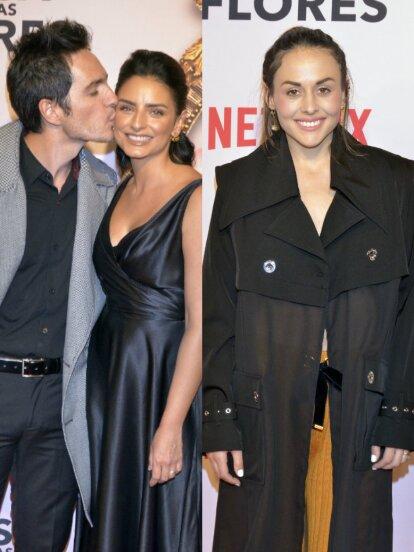 Aislinn Derbez, Zuria Vega, Danna Paola y otros famosos desfilaron en la alfombra roja de 'La Casa de las Flores'