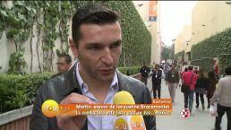 Martín Fuentes habla sobre Jacky Bracamontes