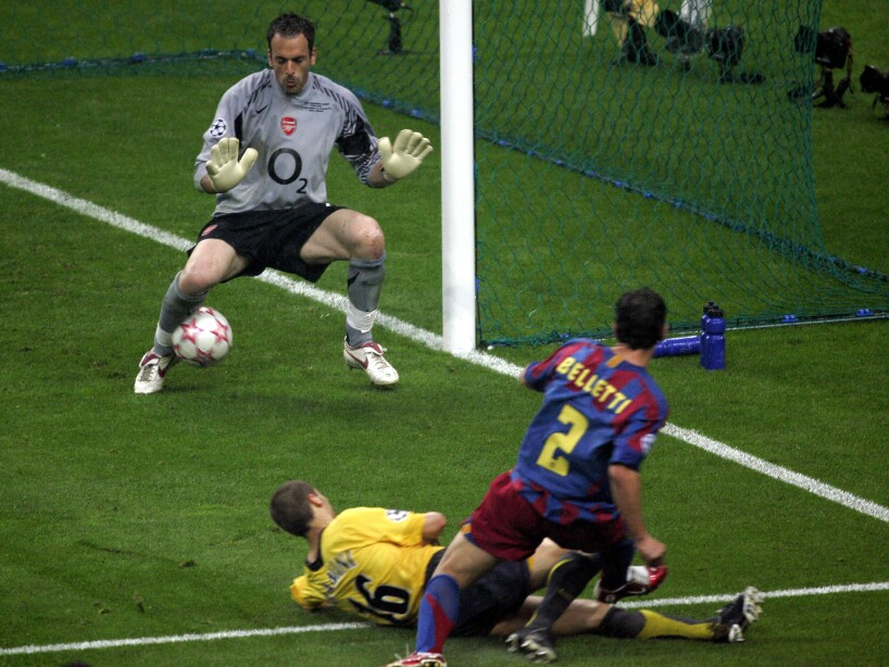 Juliano Belletti; Manuel Almunia