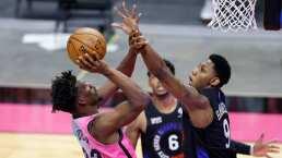Jimmy Butler se luce con Miami para vencer a los Rockets