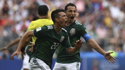 México debutó en Rusia 2018 venciendo 1-0 a los campeones del mundo, Alemania, con gol del Chucky Lozano.