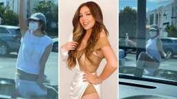 Thalía le baila a su esposo y se hace viral por hacerlo en la calle y en un poste de luz