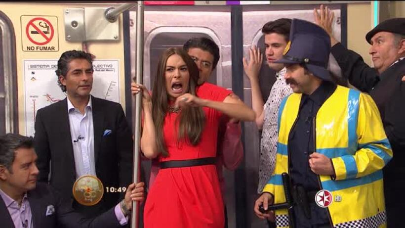 Comedia en HOY El manoseador del metro