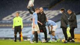 De Bruyne, baja del Manchester City por las próximas 6 semanas