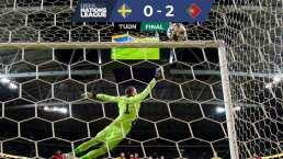 Portugal derrota a Suecia de la mano del 'Centenario' CR7