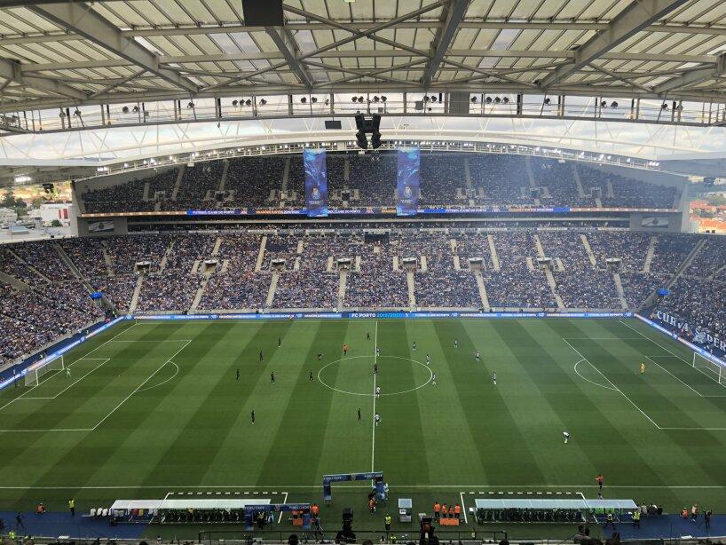 FC Porto vs AS Monaco, en imágenes