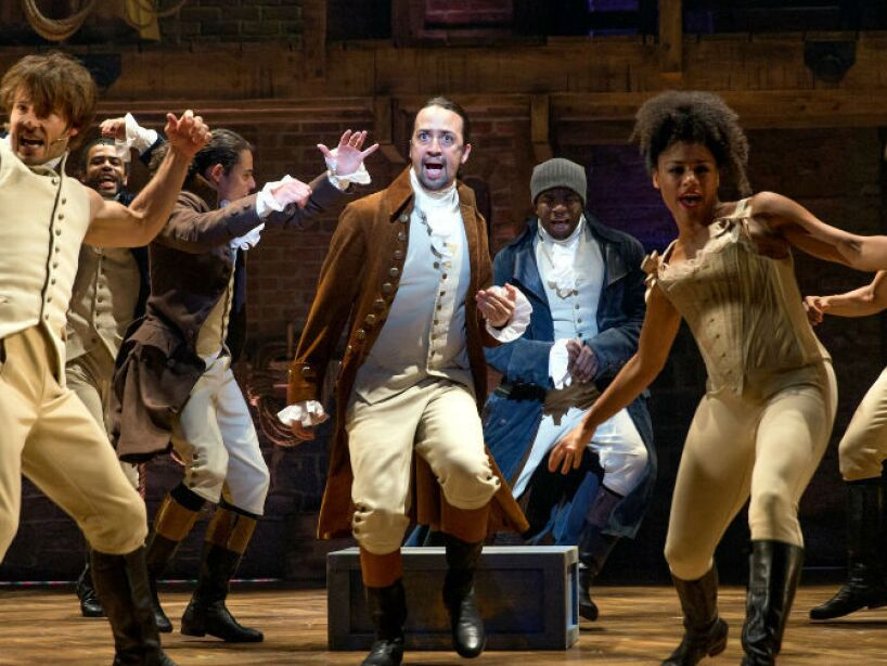 8. Alexander Hamilton: Interpretado por Lin-Manuel Miranda, triunfó en Broadway en el musical Hamilton.