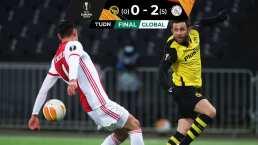 VAR perdona a Edson pero el Ajax golea en Europa League