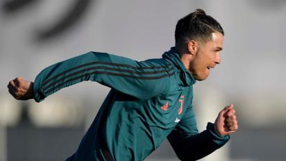 Cristiano Ronaldo vuelve a los entrenamientos con la Juventus.