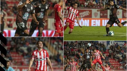 Con anotaciones de Román Ibarra y Franco Jara, los hidalguenses vencieron a Necaxa en el Estadio Victoria.