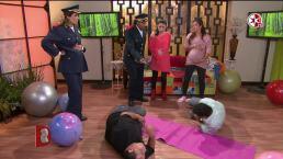 SKETCH: ¡Jaitovich hace sufrir a Violeta Isfel y Mariana Echeverría embarazadas!