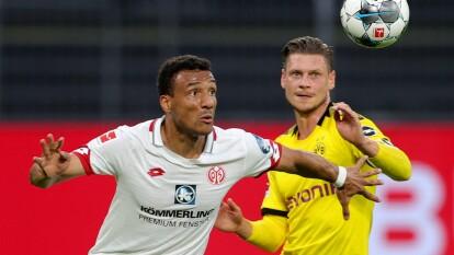 El Mainz da un gran paso para mantenerse en la Bundesliga y se separa cinco puntos de la zona de descenso trsa vencer a domicilio 0-2 al Borussia Dortmund.