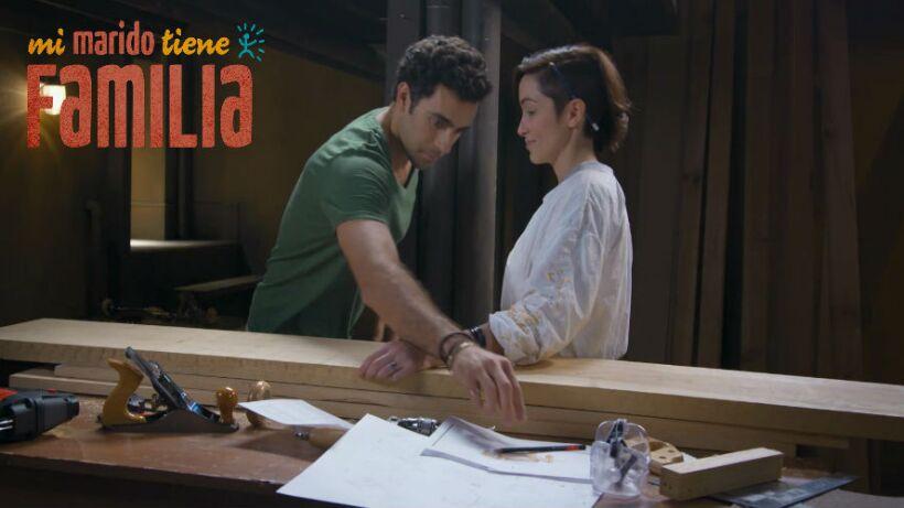 ¡Daniela y Gabriel en la carpintería!