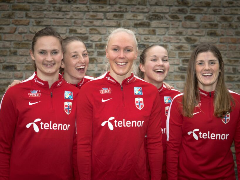 Norway Women's Photo Call