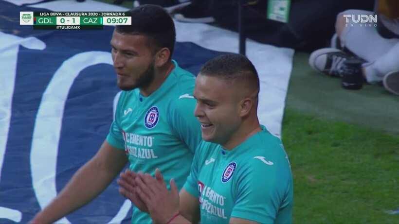 Chivas 0 1 Cruz Azul Gol De Jonathan Rodriguez Validado Pese A