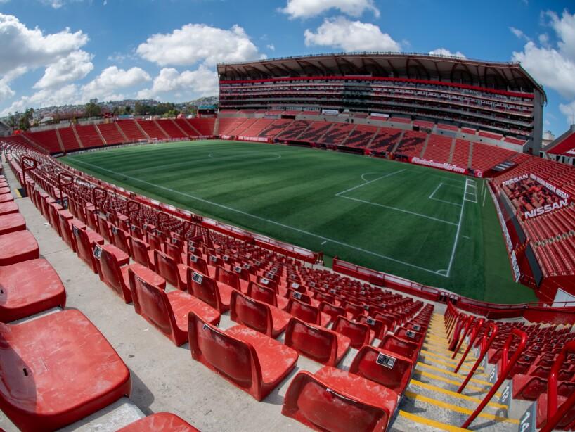 Estadio Caliente gradas