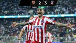 ¡Increíble! El Atlético vence al Barça y jugará la Final ante el Real