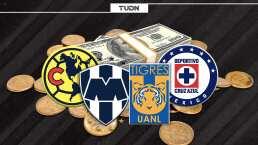 Las plantillas más caras de Liguilla en Liga BBVA MX; Pumas, el arroz negro