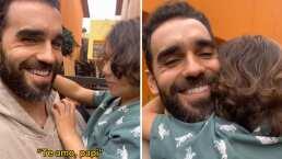 Marcus Ornellas se sorprendió al escuchar a su hijo Diego diciéndole 'Te amo, papi' en tzotzil