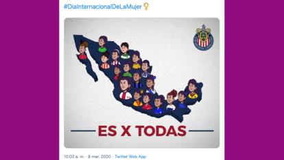 Liga MX muestra solidaridad con el género femenino en el Día Internacional de la Mujer