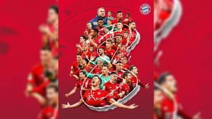 Bayern Munich llegó a 30 títulos de Bundesliga y las reacciones y festejos en redes sociales no se hacen esperar.