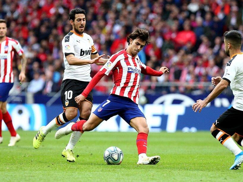 Héctor Herrera no tuvo actividad en el empate de Atlético de Madrid vs Valencia.