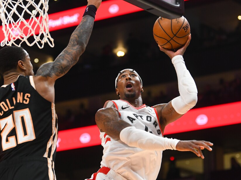 Raptors Hawks Basketball