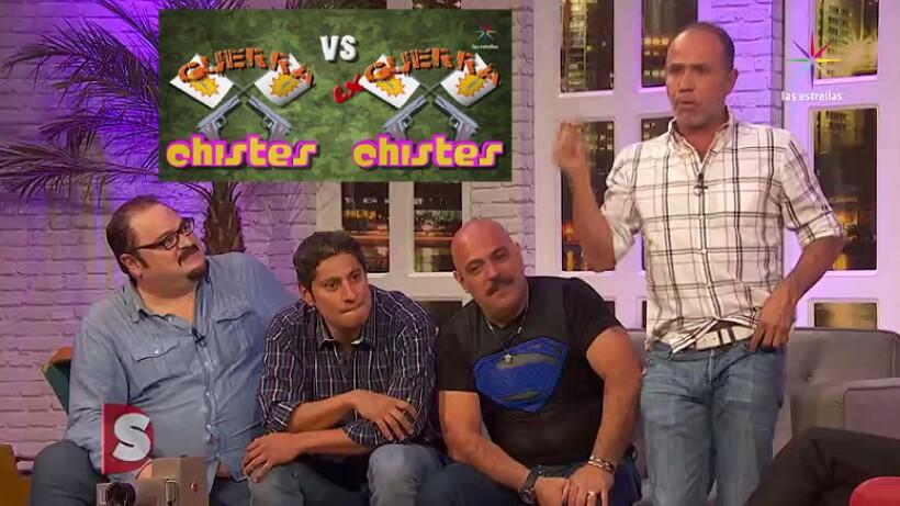 VIDEO: ¡La risas te sobrarán con Guerra de Chistes vs. ex Guerra de chistes!