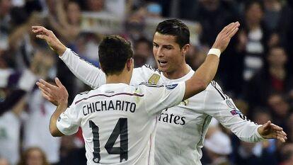Cristiano Ronaldo nunca había anotado cinco goles en un partido. Fue el Granada quien sufrió su ira goleadora. Javier Hernández entró de cambio por Benzema, pero no pudo marcar en la goleada de 9-1.