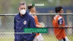 """Peláez promete que Chivas volverá """"muy pronto"""" al buen camino"""