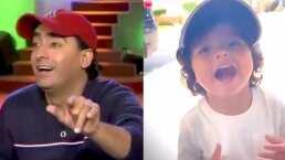 Hijo de tigre pintito: El bebé de Adal Ramones ya usa gorra, solo le falta el monólogo