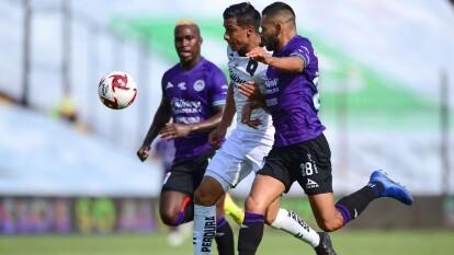 Con goles de Omar Islas y Mario osuna, Queretaro y Mazatlán reparten puntos en la Corregidora y Mazatlán consigue un histórico punto.