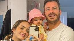 La bebé de Juan Diego Covarrubias ya dijo su primera palabra ¿Mamá o papá?