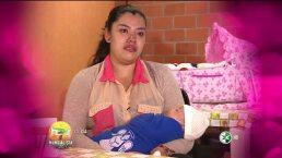 Yadhira Carrillo regala ropón a un tierno Bebé Hoy 2 Julio